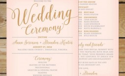 004 Excellent Free Printable Wedding Program Paddle Fan Template Photo  Templates