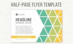 004 Excellent Half Page Flyer Template Inspiration  Templates Google Doc Free Word Canva