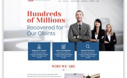 004 Excellent Law Firm Website Template Free Picture  Wordpres