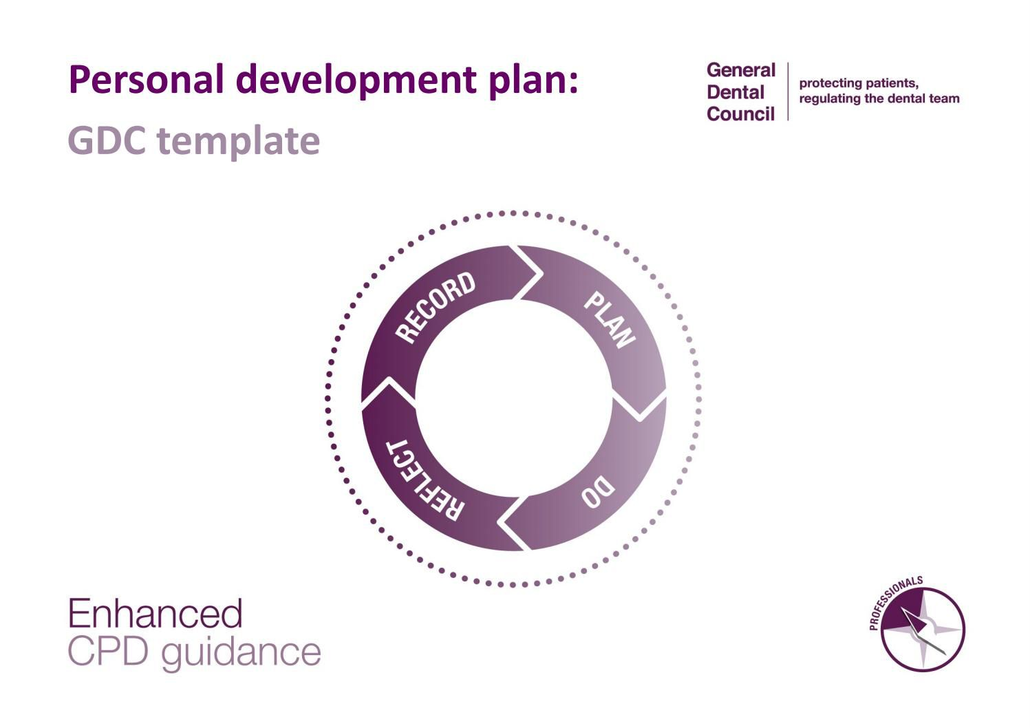 004 Excellent Personal Development Plan Template Gdc Highest Quality  FreeFull