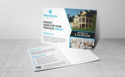004 Excellent Real Estate Postcard Template Design  Templates For Photoshop Commercial