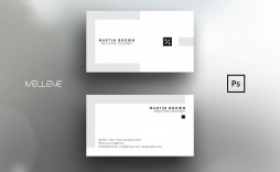 004 Excellent Simple Busines Card Template Photoshop Sample