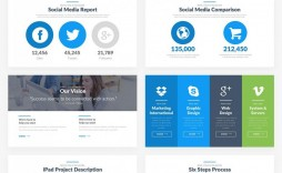 004 Excellent Social Media Report Template Inspiration  Templates Powerpoint Monthly Free