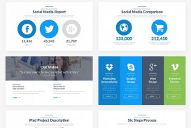 004 Excellent Social Media Report Template Inspiration  Powerpoint Free Download
