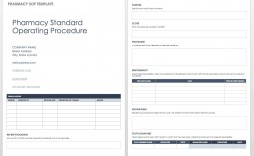 004 Excellent Standard Operating Procedure Template Word Highest Clarity  Example Free Microsoft Download