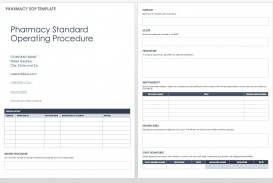 004 Excellent Standard Operating Procedure Template Word Highest Clarity  Microsoft (sop) Format Download