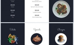 004 Excellent Take Out Menu Template High Def  Tri Fold Free Word Restaurant Away