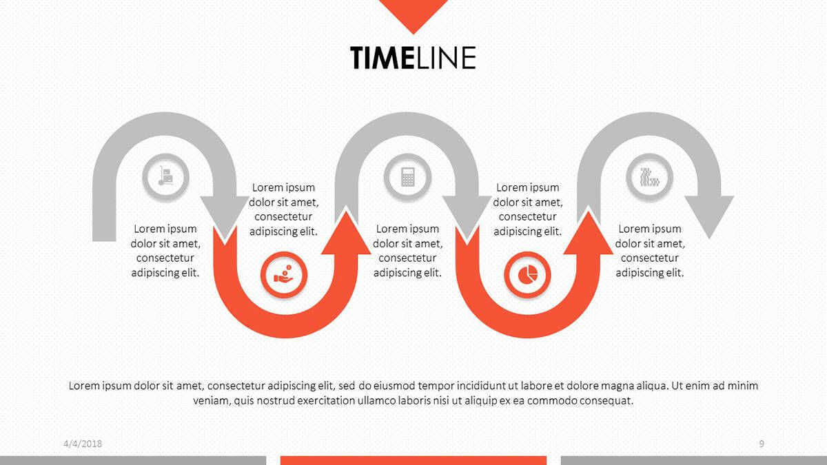 004 Excellent Timeline Template Presentationgo Highest Quality Full