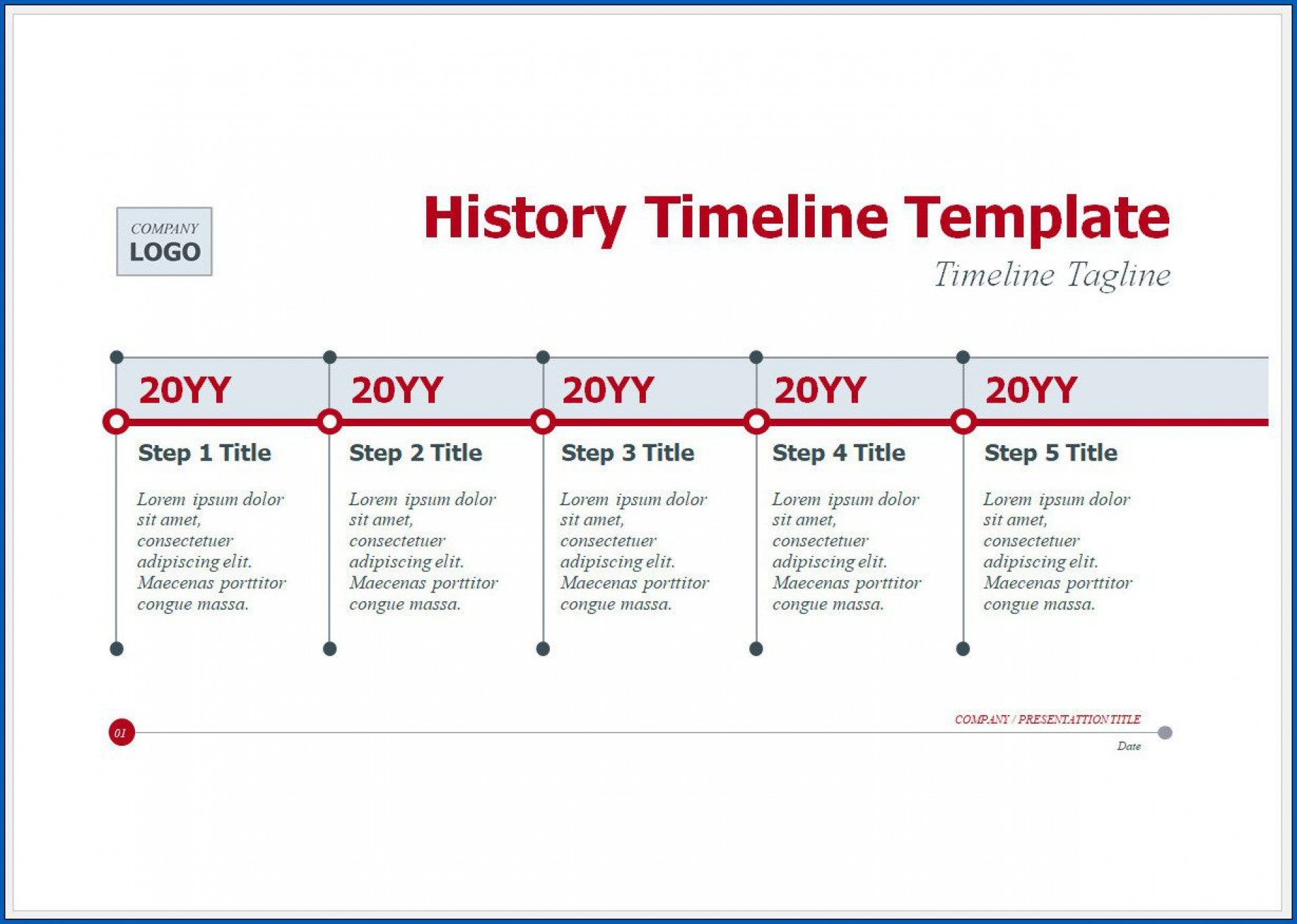 004 Excellent Vertical Timeline Template For Word Highest Clarity  Blank1920