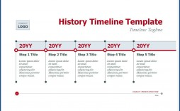 004 Excellent Vertical Timeline Template For Word Highest Clarity  Blank