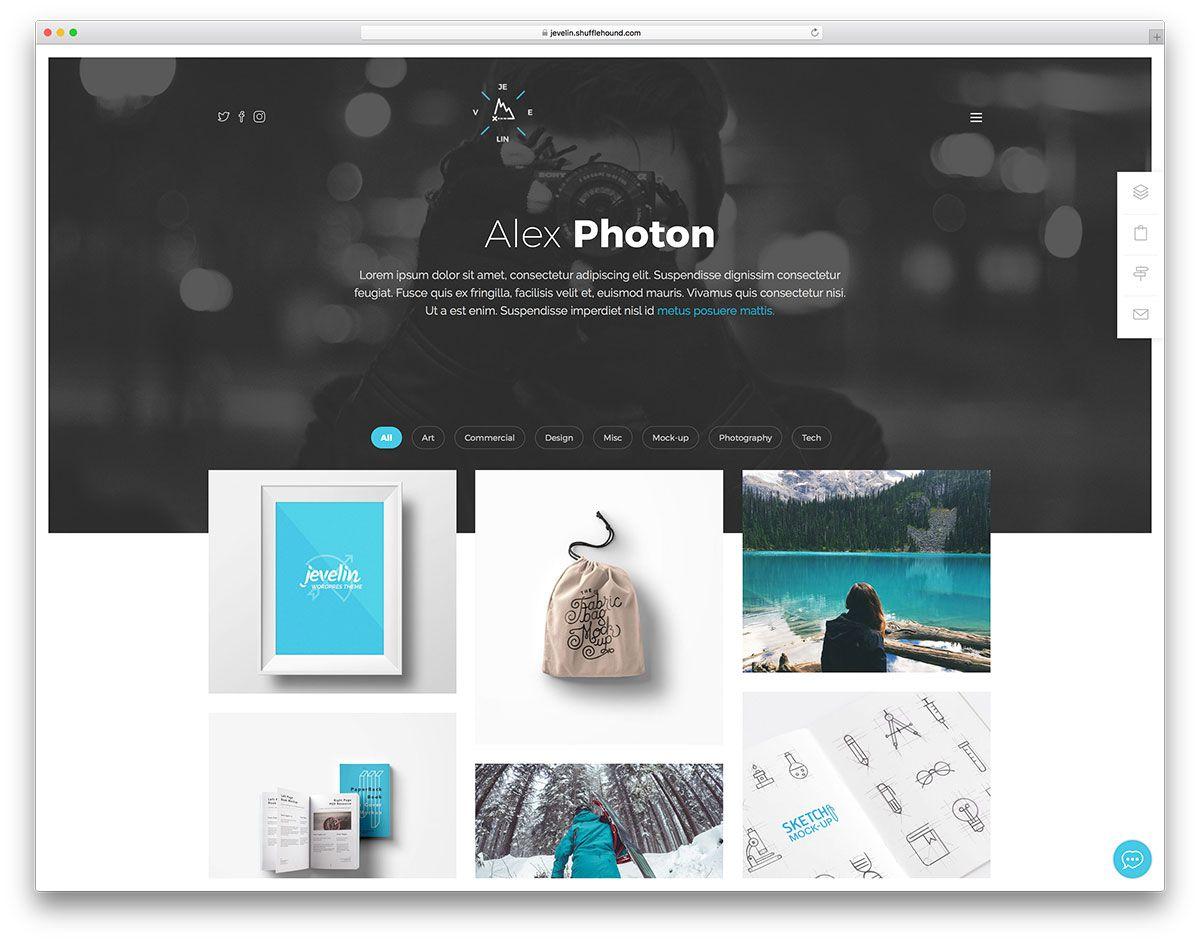 004 Excellent Web Developer Portfolio Template High Resolution  Templates Best Design Theme Free WordpresFull