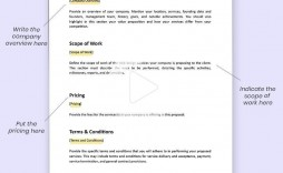004 Excellent Website Development Proposal Template Free Idea  Word