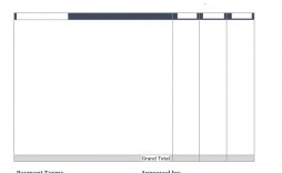 004 Excellent Work Invoice Template Word Design  Hour