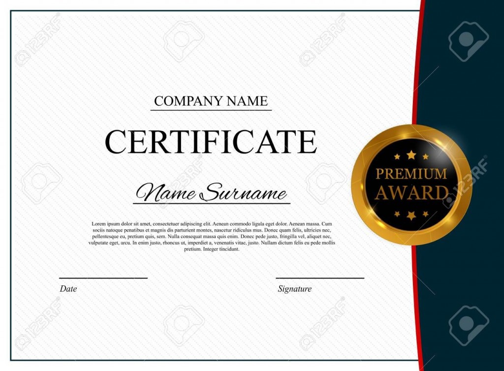 004 Exceptional Blank Award Certificate Template High Definition  Printable Math Editable FreeLarge
