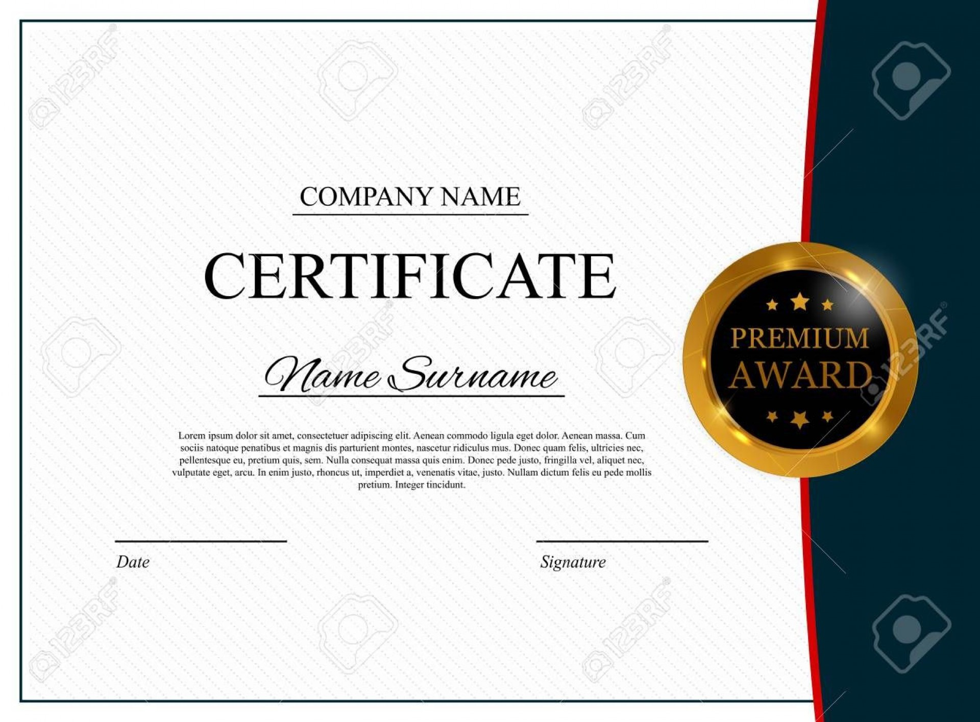 004 Exceptional Blank Award Certificate Template High Definition  Printable Math Editable Free1920