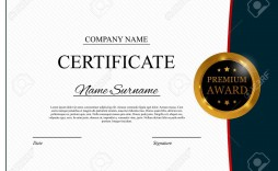 004 Exceptional Blank Award Certificate Template High Definition  Printable Math Editable Free