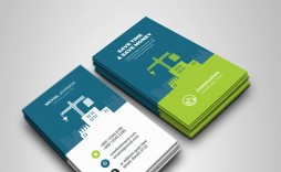 004 Exceptional Construction Busines Card Template Picture  Templates Visiting Company Format Design Psd