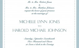 004 Exceptional Formal Wedding Invitation Wording Template High Definition  Templates