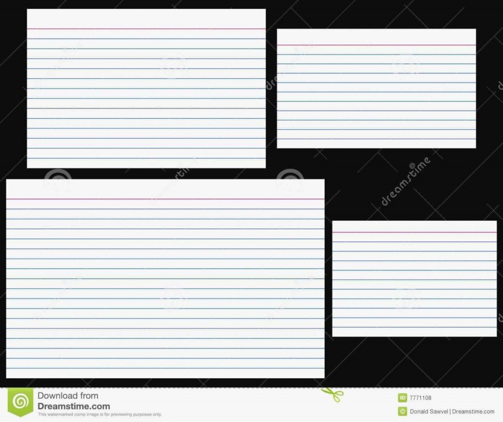 004 Exceptional Free Index Card Template High Def  Printable EditableLarge