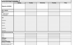 004 Exceptional One Day Lesson Plan Template Picture  Example Format