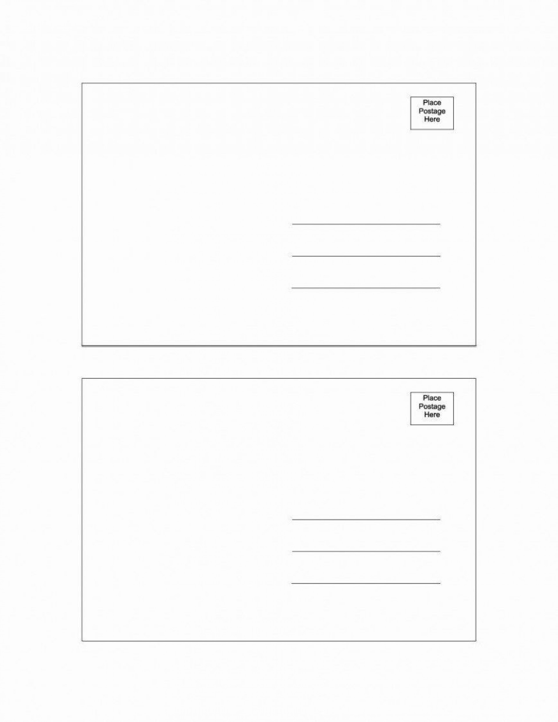 004 Exceptional Postcard Template Download Microsoft Word Example 1920