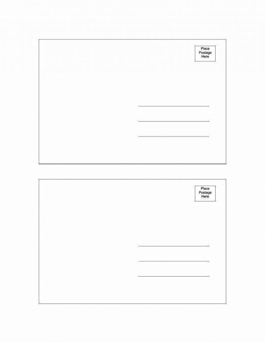 004 Exceptional Postcard Template Download Microsoft Word Example Full