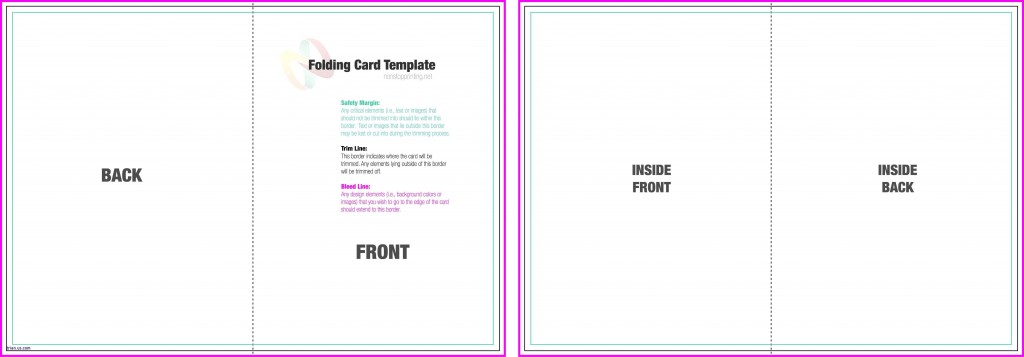 004 Exceptional Quarter Fold Card Template Sample  Templates Greeting Microsoft Word PageLarge