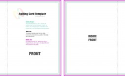 004 Exceptional Quarter Fold Card Template Sample  Templates Greeting Microsoft Word Page