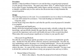 004 Exceptional Research Paper Proposal Template Apa Highest Quality