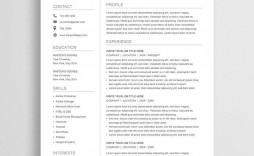 004 Exceptional Resume Sample Free Download Doc Idea  For Fresher Pdf