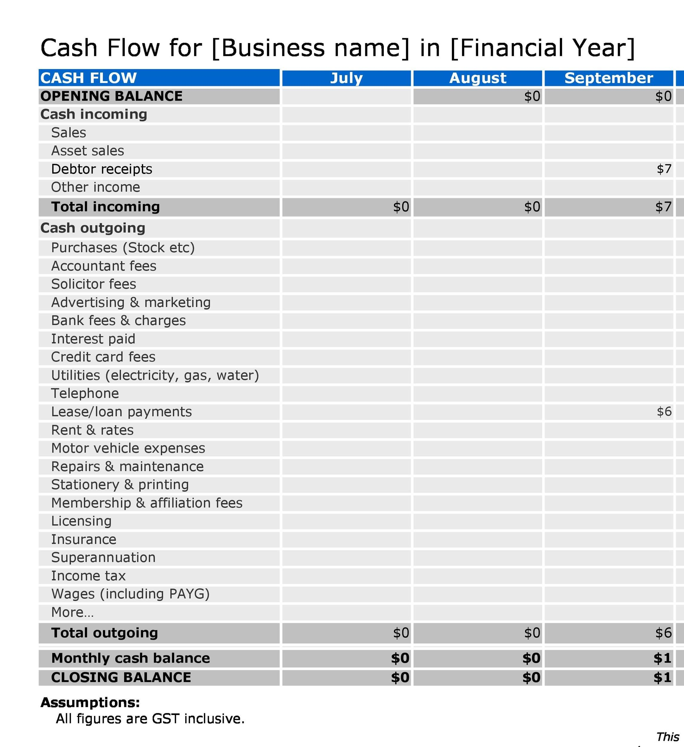 004 Exceptional Statement Of Cash Flow Template Ifr High Resolution  Ifrs ExcelFull