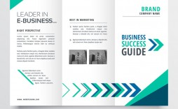 004 Fantastic 3 Fold Brochure Template Free Design  Word Download