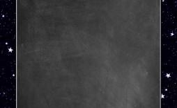 004 Fantastic Chalkboard Invitation Template Free Inspiration  Birthday Download