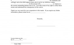 004 Fantastic Child Support Agreement Template Example  Australia Bc Alberta