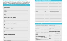 004 Fantastic Family Medical History Template Free Image  Questionnaire