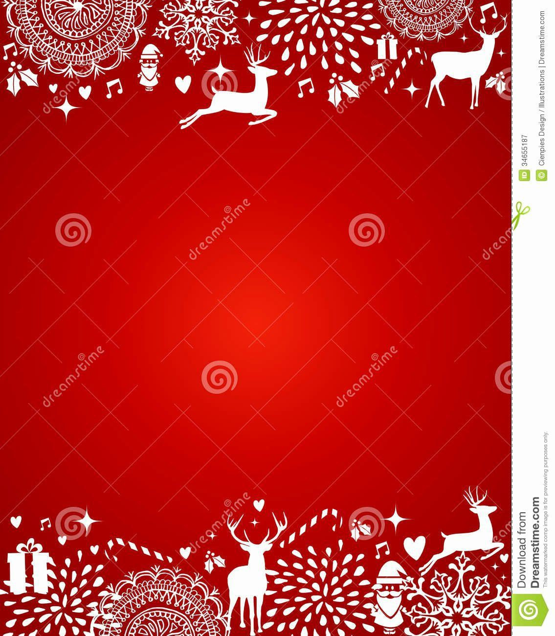 004 Fantastic Free Christma Template For Word Design  Holiday Party Invitation Recipe Card Printable StationeryFull