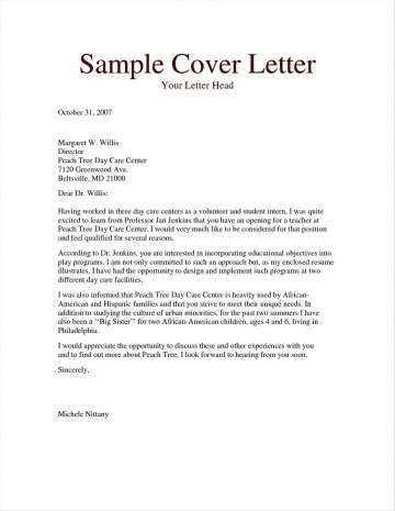 004 Fantastic Free Download Cover Letter Sample High Definition  For Fresher Pdf Template360