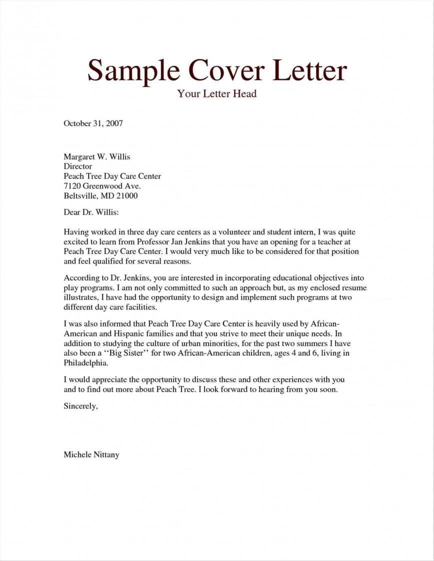 004 Fantastic Free Download Cover Letter Sample High Definition  For Fresher Pdf Template868