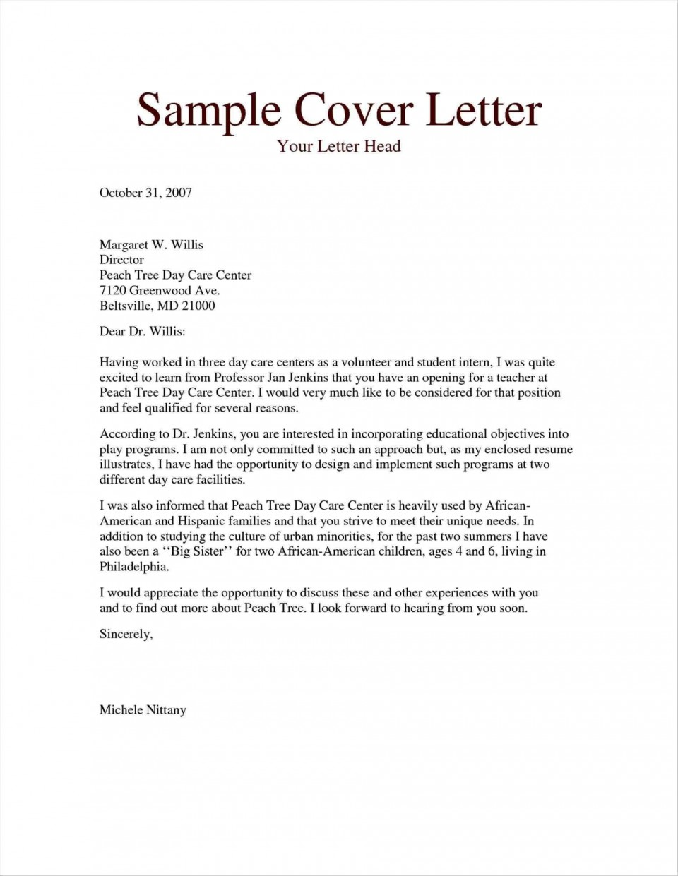 004 Fantastic Free Download Cover Letter Sample High Definition  For Fresher Pdf Template960
