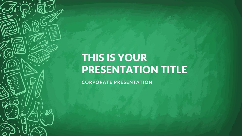 004 Fantastic Free Education Ppt Template High Def  Powerpoint For Teacher Creative Download Professional960