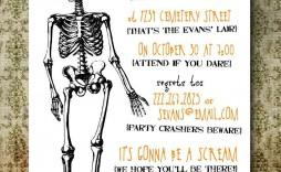 004 Fantastic Free Halloween Invitation Template Concept  Templates Online Printable Birthday Party Wedding
