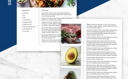 004 Fantastic Free Make Your Own Cookbook Template Download Concept  Downloads