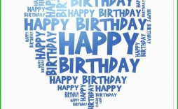 004 Fantastic Happy Birthday Card Template For Word Idea