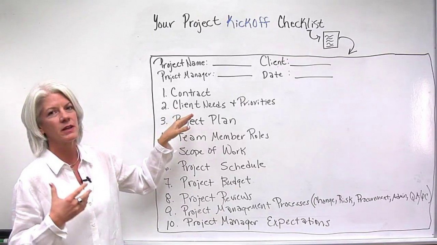 004 Fantastic Project Management Kickoff Meeting Agenda Template Sample 1400