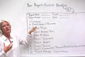 004 Fantastic Project Management Kickoff Meeting Agenda Template Sample