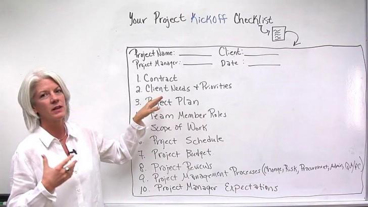004 Fantastic Project Management Kickoff Meeting Agenda Template Sample 728