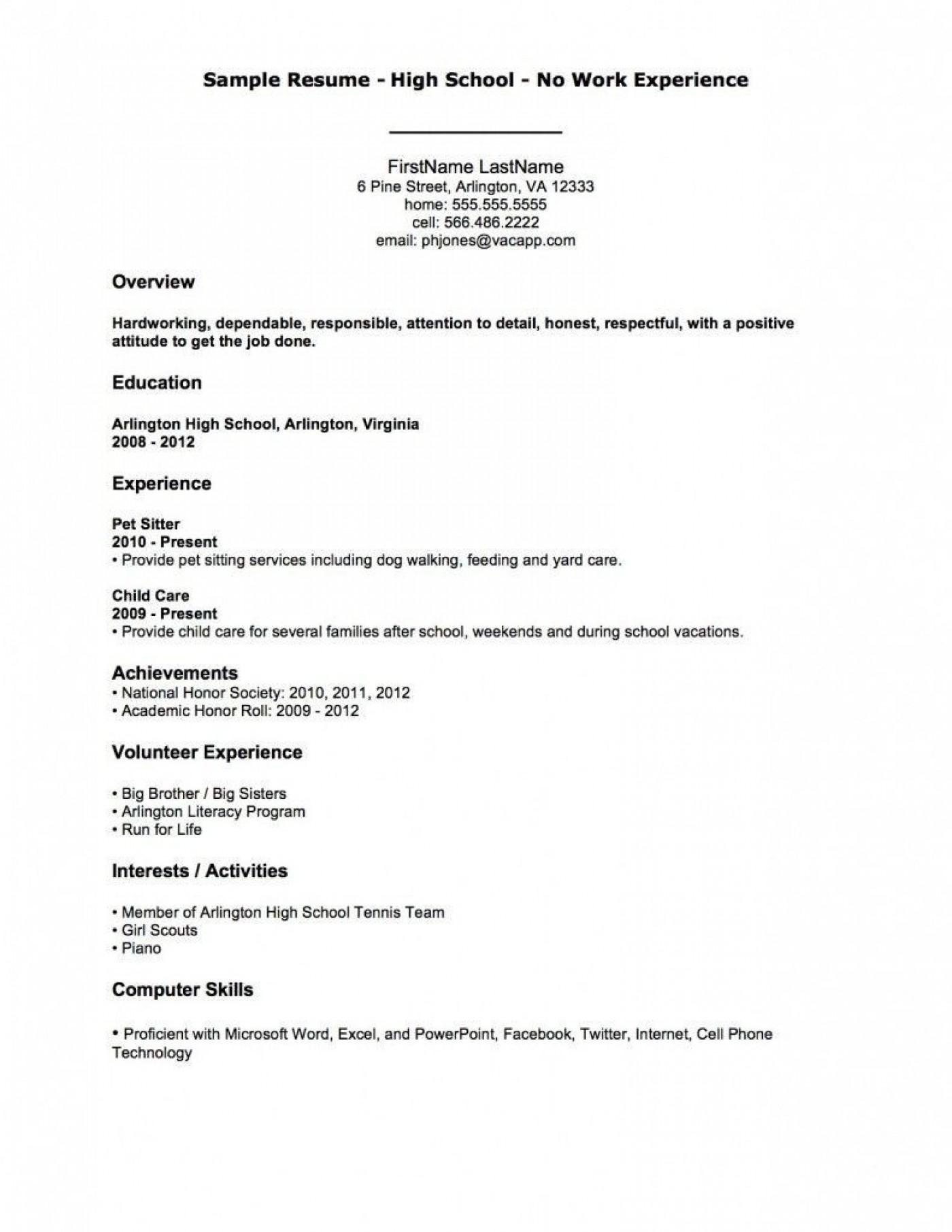 004 Fantastic Resume Template For Teen Image  Teenager First Job Australia1400