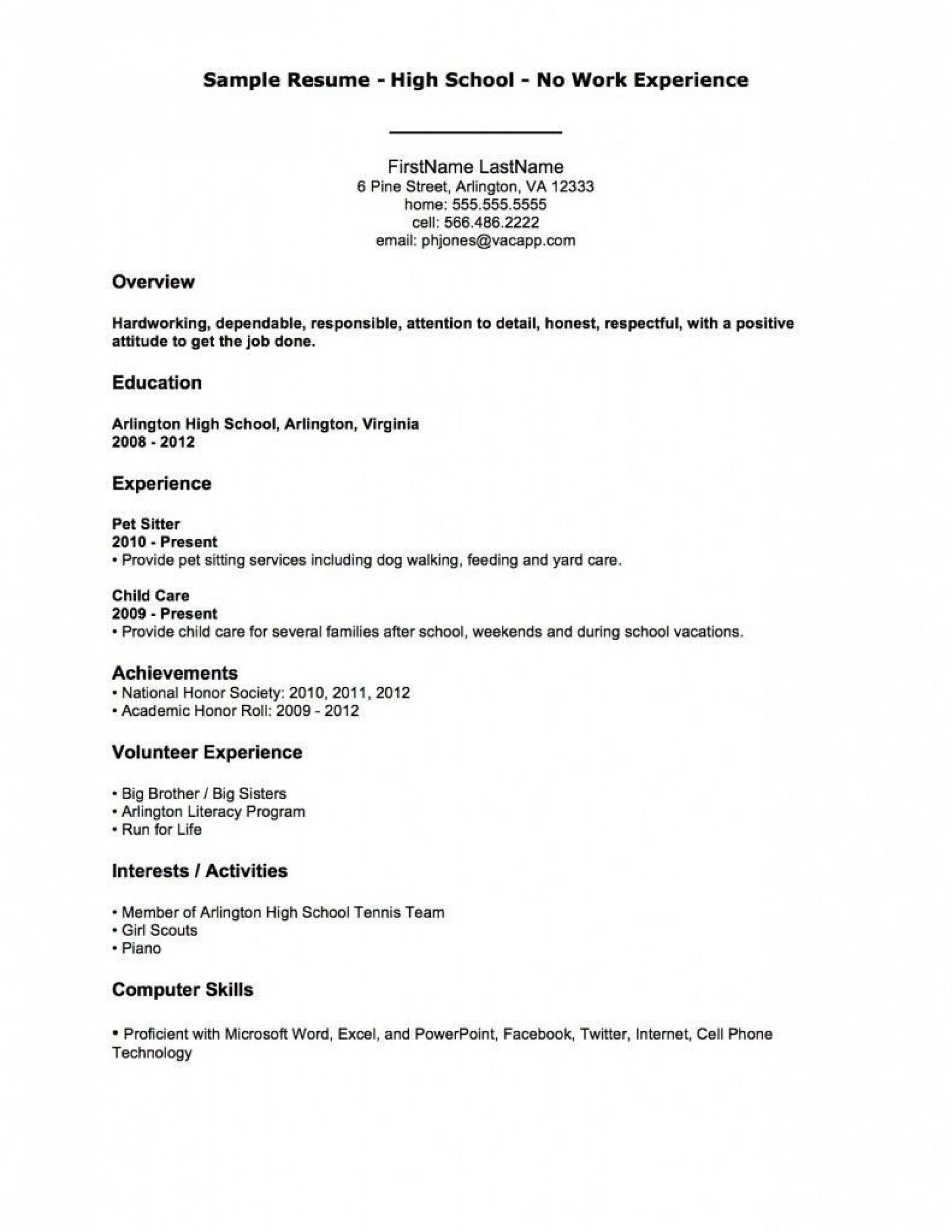 004 Fantastic Resume Template For Teen Image  Teenager First Job Australia1920
