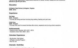 004 Fantastic Resume Template For Teen Image  Teens Teenager First Job Australia