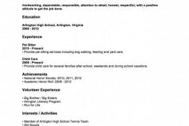 004 Fantastic Resume Template For Teen Image  Teenager First Job Australia
